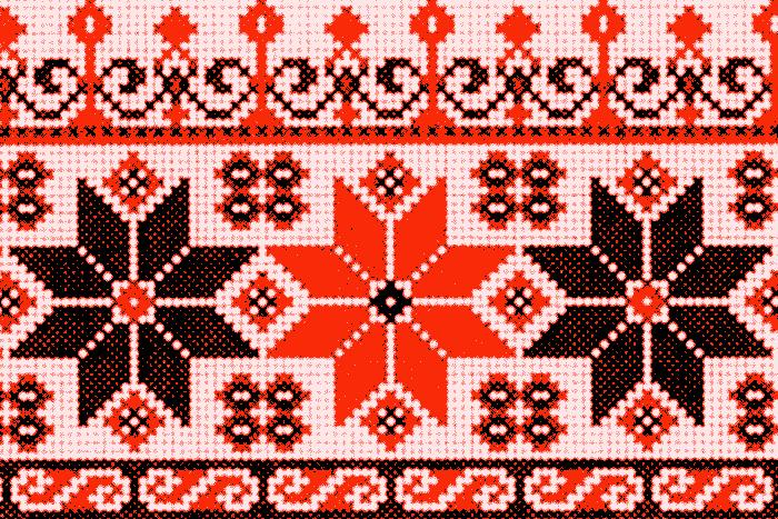 Мордовский орнамент. Источник: twitter.com
