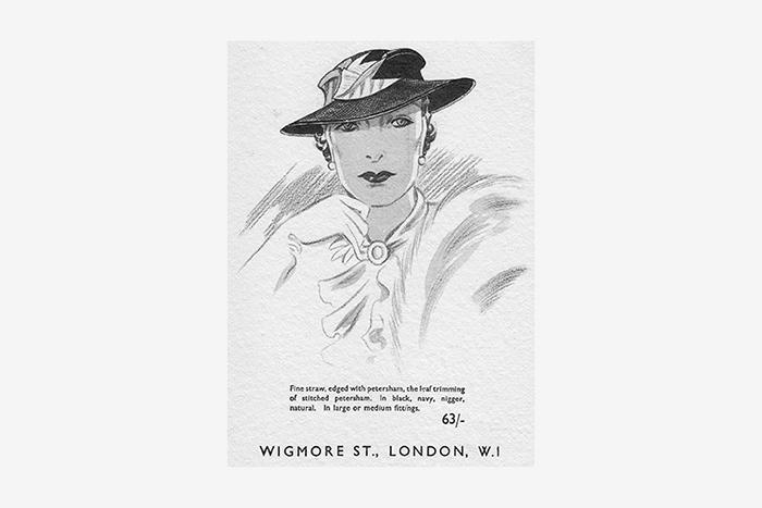 Реклама шляп. Лондон, ок. 1940