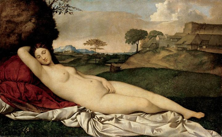 Спящая Венера. Джорджоне. 1510год