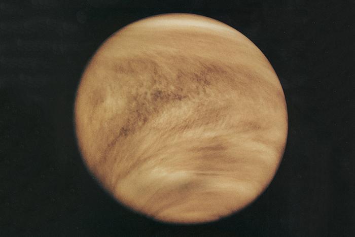 Атмосфера Венеры, ультрафиолетовый спектр. Исто...