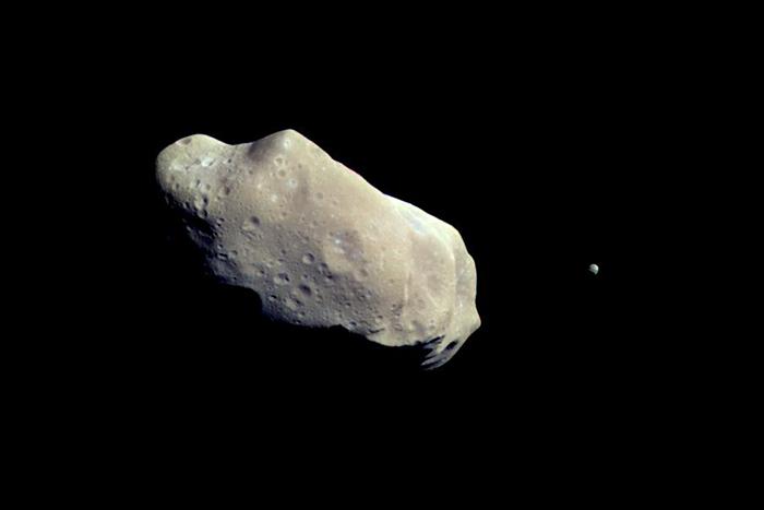 Ида иДактиль. Источник: NASA / jpl.nasa.gov