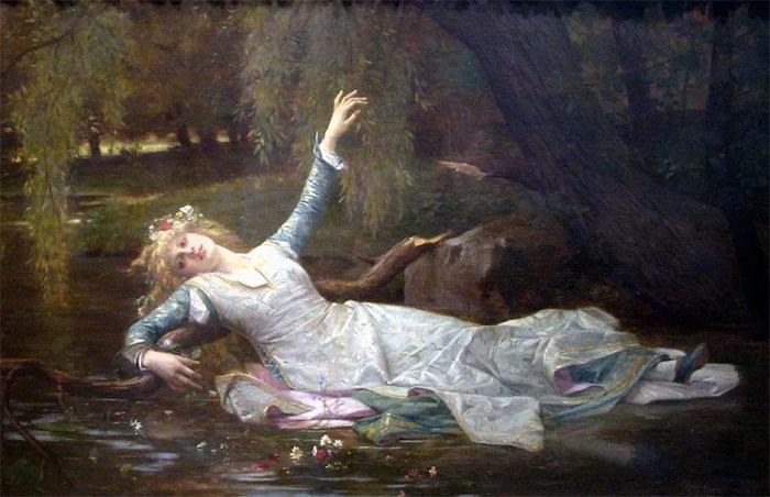 Офелия. Александр Кабанель.1883год