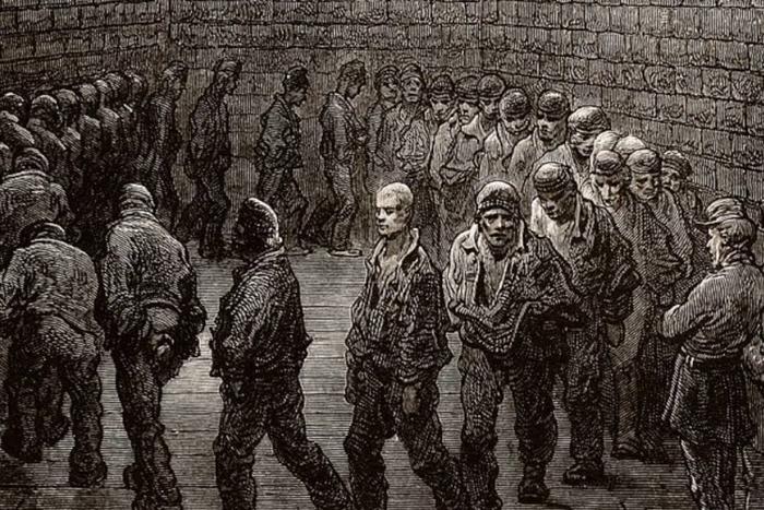 «Прогулка заключенных»