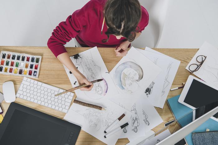Время творить: курсы для тех, кто всегда мечтал стать аниматором и иллюстратором