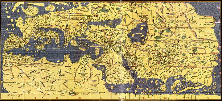 Карта древнего средиземноморья