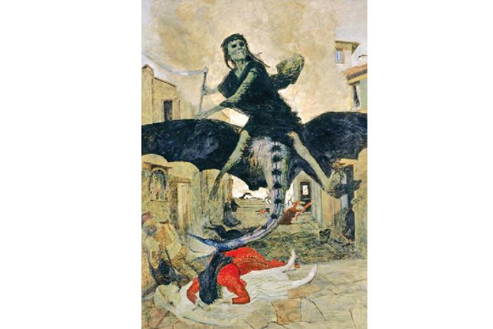 Арнольд Беклин. «Чума», 1898г.Базел...