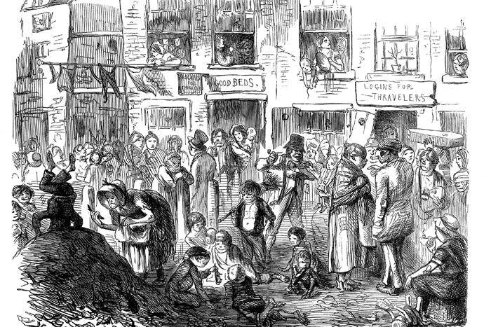 Город мусорщиков: эпидемия холеры в Лондоне