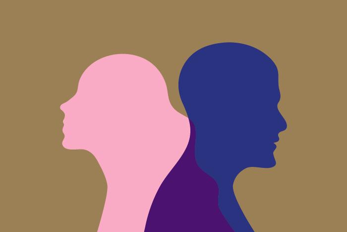 Как в литературе описывают мужчин и женщин