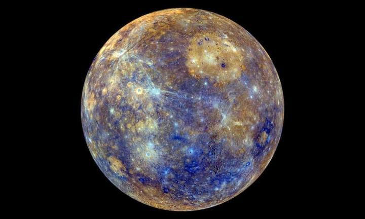 Снимок Меркурия. Фотография NASA