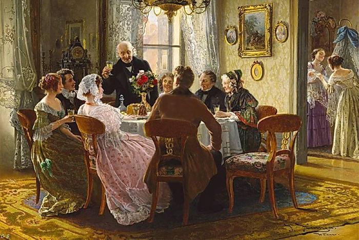 Сентябрь 1857-го: что ели и о чем говорили на великосветских обедах