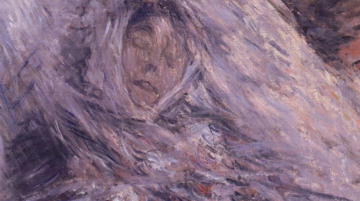 «Камилла насмертном одре», Клод Моне