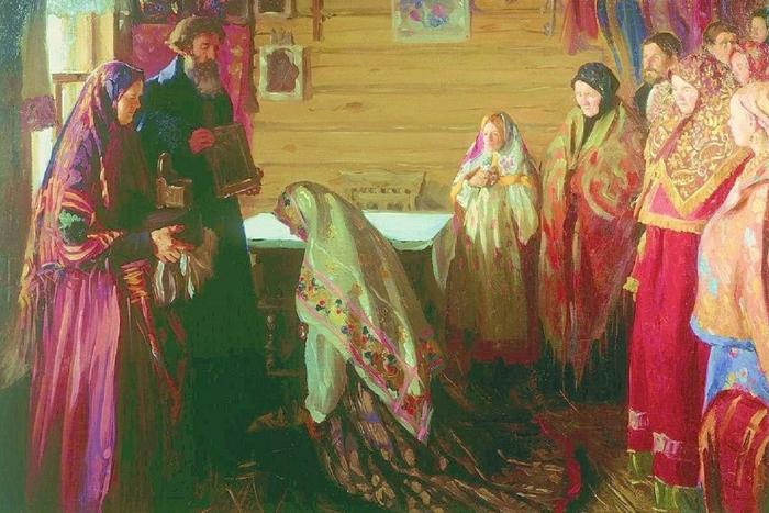 «Свадьба» И.С.Куликов