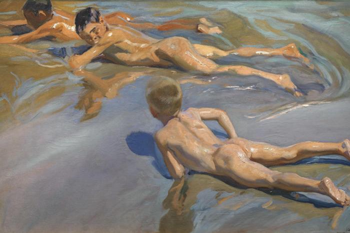 Хоакин Соролья «Мальчики напляже»