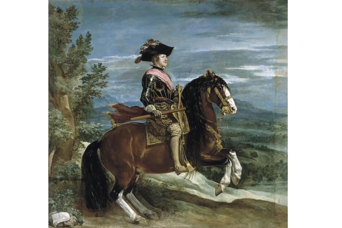 Диего Веласкес «Конный портрет Филиппа IV»