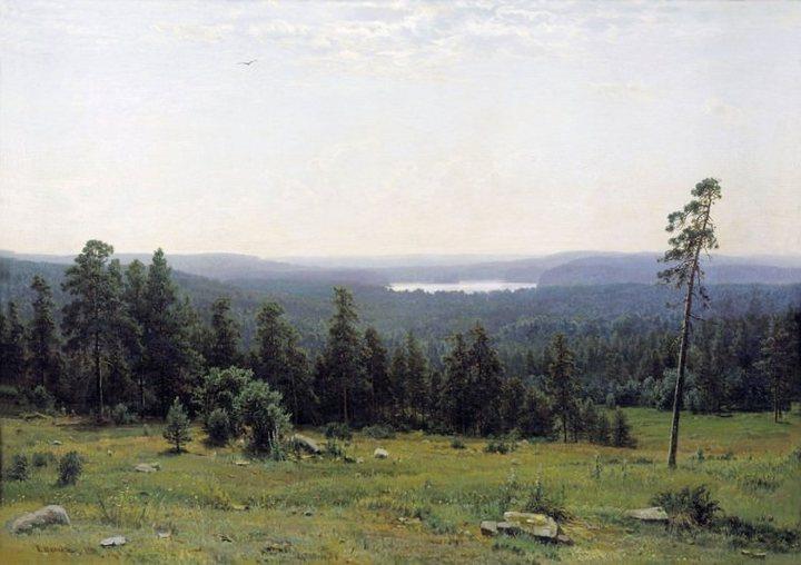 Иван Шишкин, «Лесные дали» (1884г.)