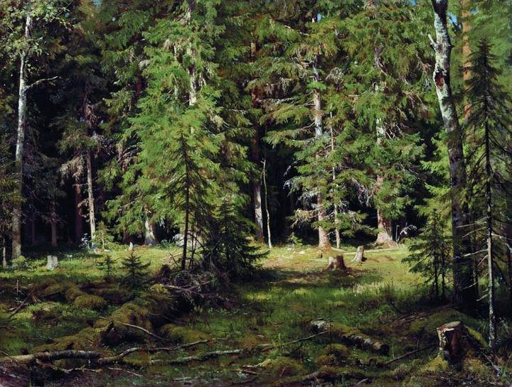 Иван Шишкин, «Лес» (1880г.)