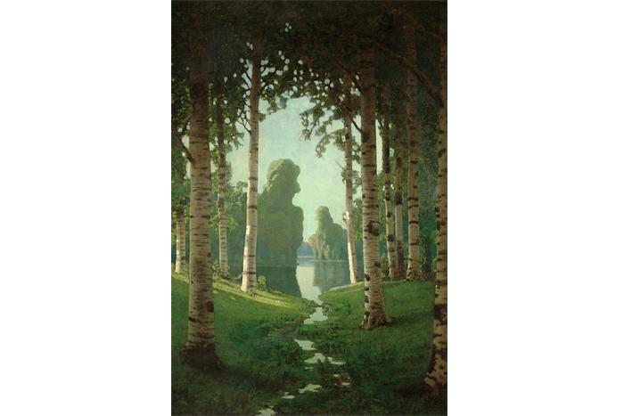 Архип Куинджи, «Березовая роща» (1901г.)