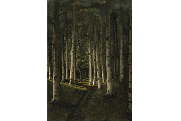 Архип Куинджи, «Березовая роща» (1881г.)