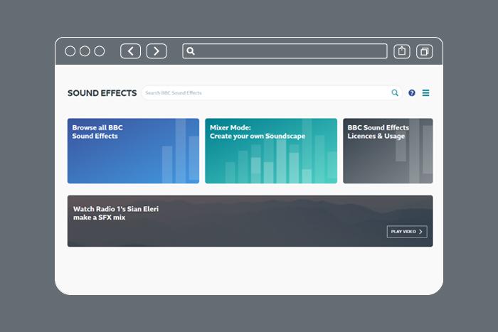 Бесплатная библиотека звуковых эффектов от BBC