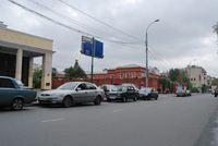 Станция метро Спортивная, выход на улицу Десятилетия Октября