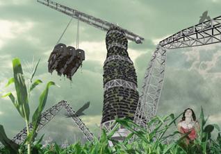 Дизайн будущего: *умные материалы и здания, которые строят сами себя*