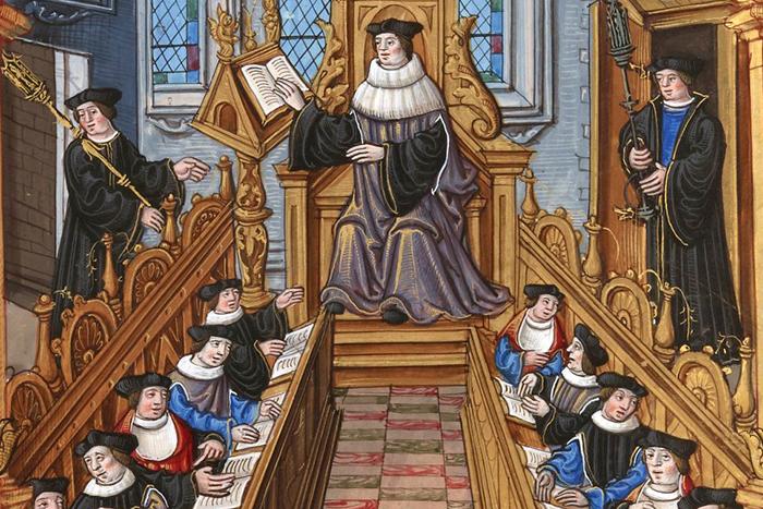 Образование средние века европе стоимость обучения в магистратурах европы
