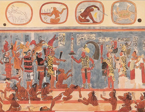 mayan sacrifice ceremony - 573×443