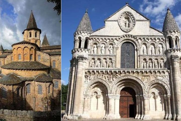 Романская архитектура: города, соборы и монастыри