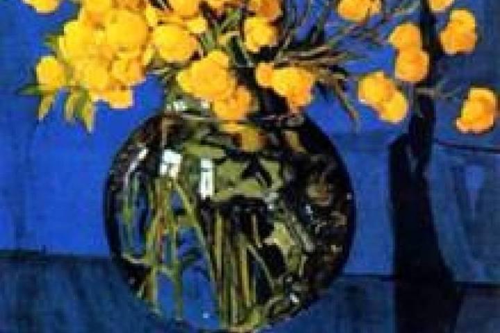 Мастер-класс по живописи  «Желтый букет» (масло)