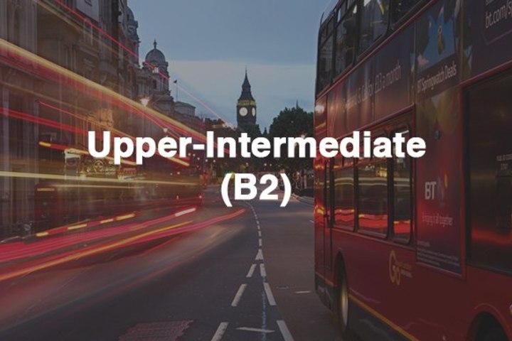 Старт группы Upper-Intermediate English