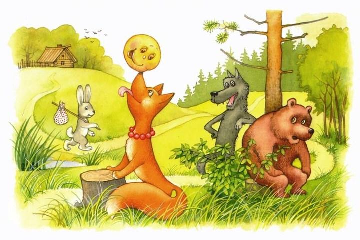"""Занятие для детей """"Русские сказки и сказочники"""""""