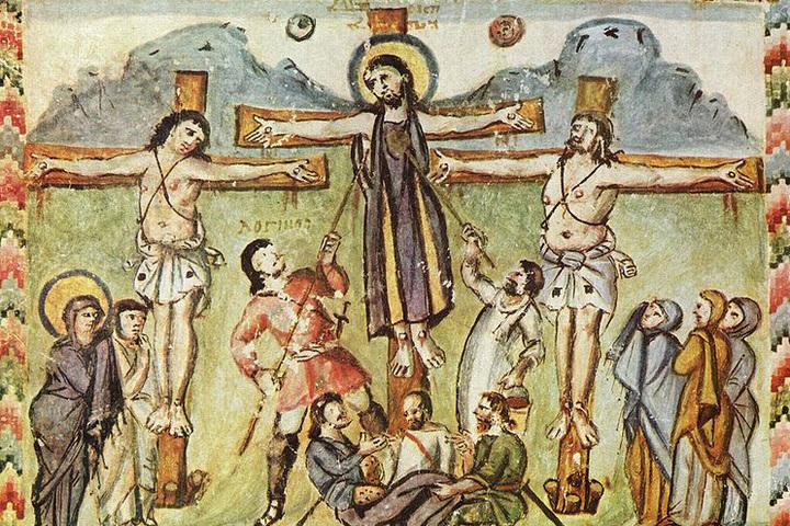 Иконографический беспредел Средневековья. Профессии Иисуса Христа