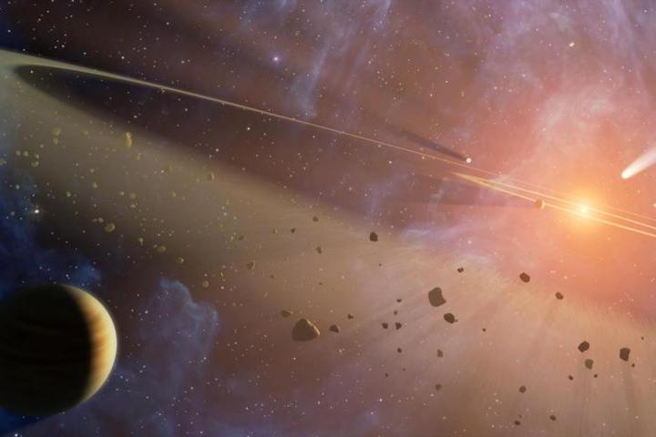 Рождение планетных систем