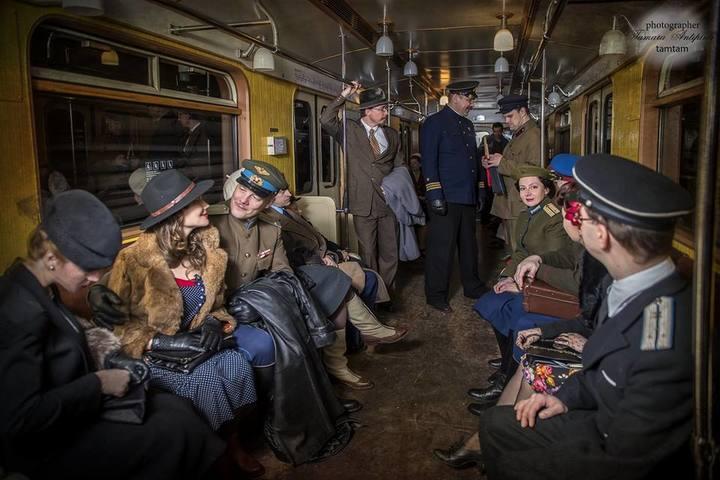Ночь в метро: от Комсомольской до Воробьевых гор