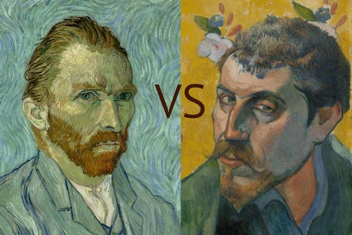 Ван Гог VS Гоген