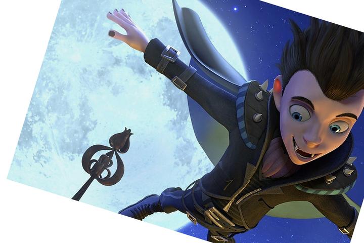 Европейская анимация: Маленький вампир в Детском Пионере