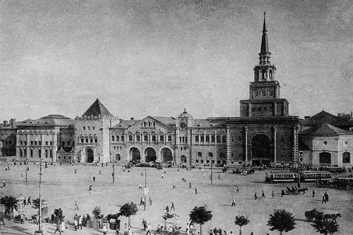 Железное средокрестие: три вокзала