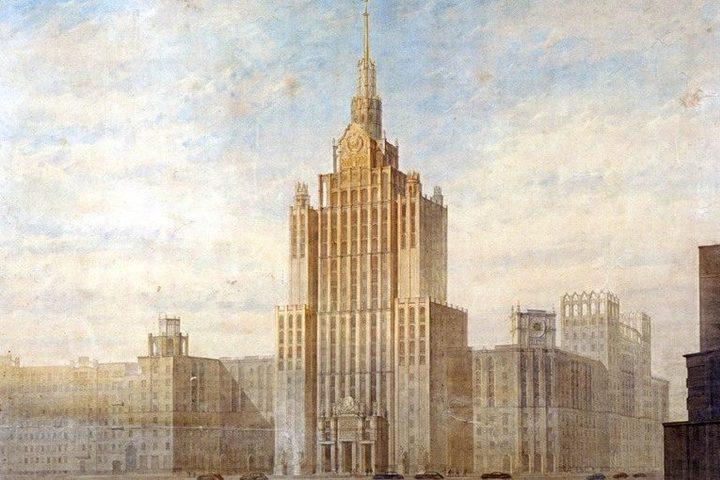Сталинские высотки. История московских небоскребов