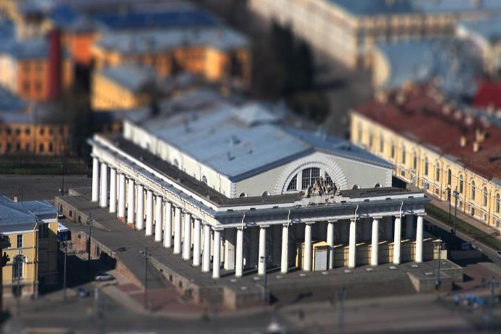 Античные традиции в архитектуре Петербурга