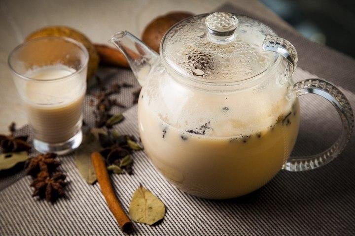 """Индийский чайный напиток в """"Шкатулке"""" в Измайлово"""