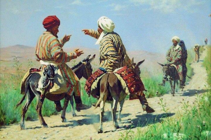 Туркестан Верещагина: этнографические очерки. «У дверей мечети». Религии Средней Азии