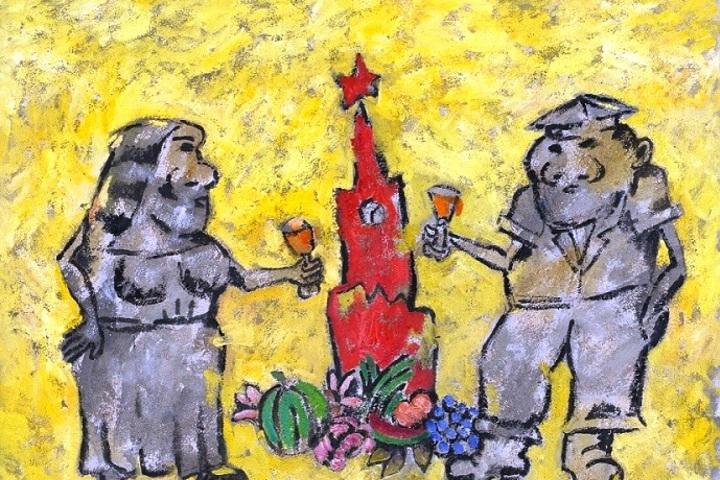 Выставка одного из главных художников-семидесятников Аркадия Петрова в галерее Artstory 29.03.18