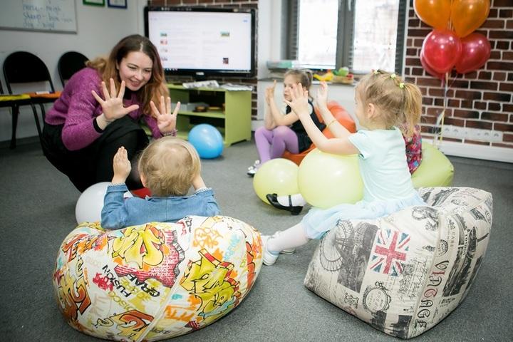 Детский английский разговорный клуб с носителями (USA, UK)