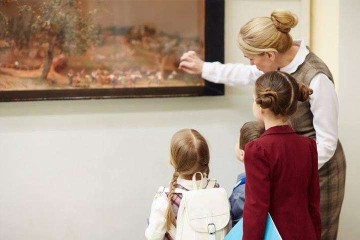 Как говорить с ребенком об искусстве