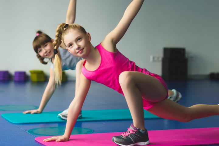 «Childplay Yoga» для детей 8-13 лет. Открытый урок