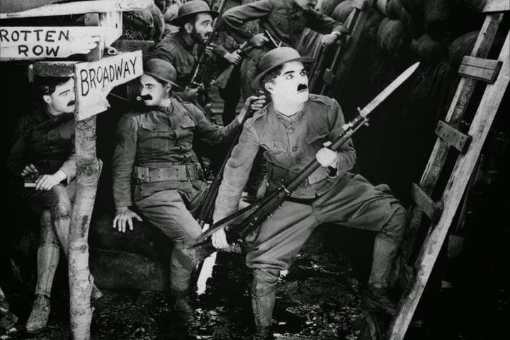 Показ и обсуждение фильма «На плечо!» (США,1918. Режиссёр — Чарли Чаплин)