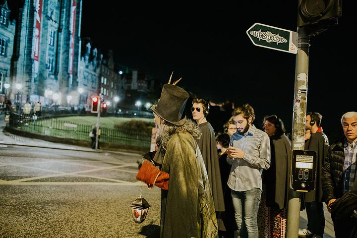 Иммерсивная экскурсия по Москве с фонарщиком Farolero