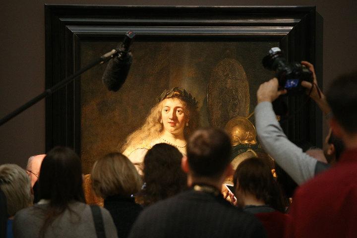"""Лекция к выставке """"Эпоха Рембрандта и Вермеера"""""""