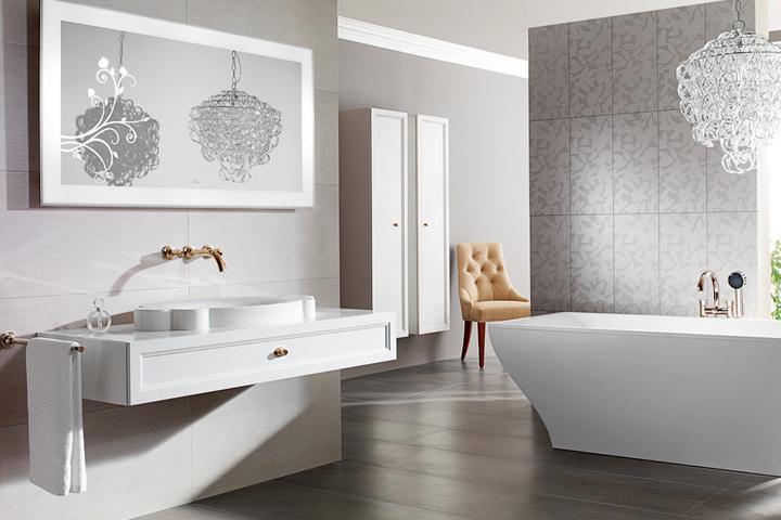 Дизайн-экскурсия по выбору сантехники и мебели для ванных комнат