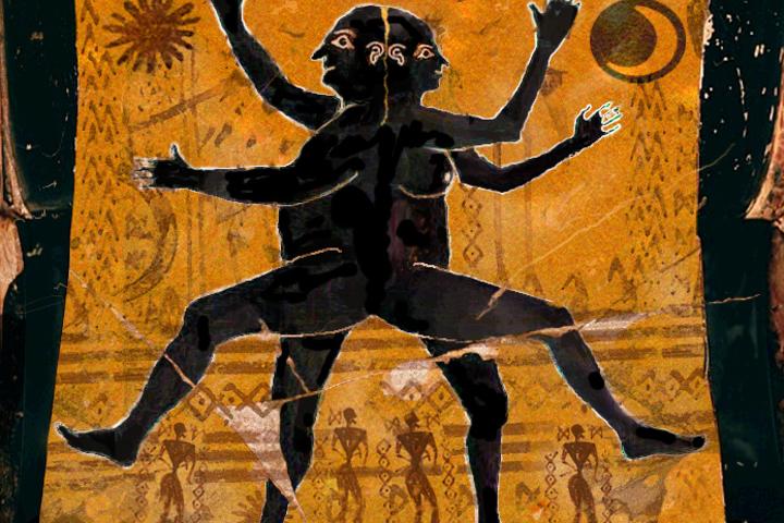 Мифы Аристофана и Диотимы: андрогины и происхождение Эрота